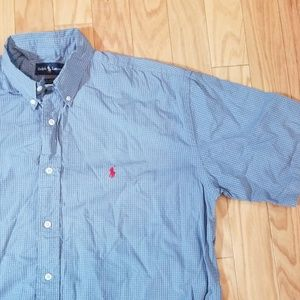 Polo by Ralph Lauren Shirts - Polo Ralph Lauren Plaid Short Sleeved Shirt